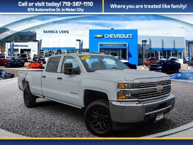 2018 Silverado 2500 Crew Cab 4x4 Pickup #X5236 - photo 1