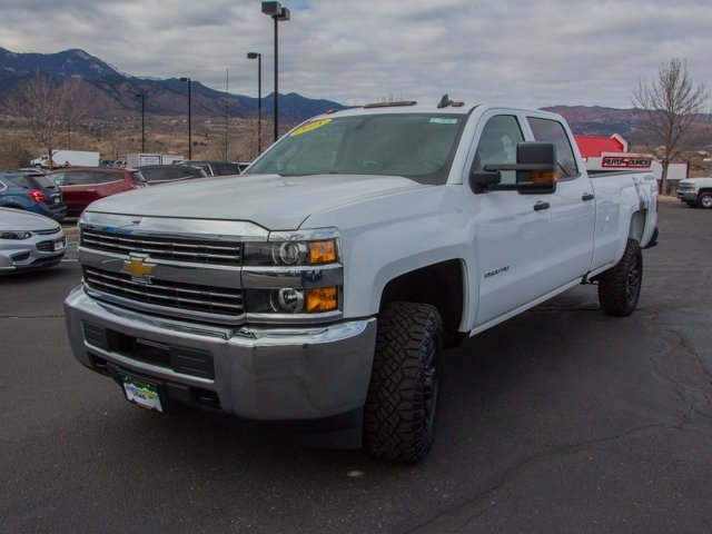 2018 Silverado 2500 Crew Cab 4x4 Pickup #X5236 - photo 7