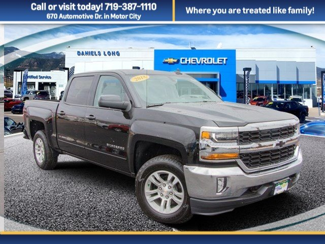 2018 Silverado 1500 Crew Cab 4x4 Pickup #X5243 - photo 1
