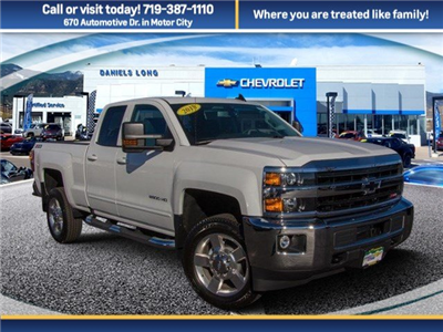 2018 Silverado 2500 Extended Cab 4x4 Pickup #X5275 - photo 1