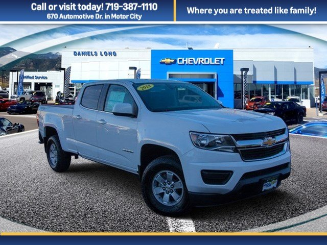 2018 Colorado Crew Cab 4x4, Pickup #X5278 - photo 1