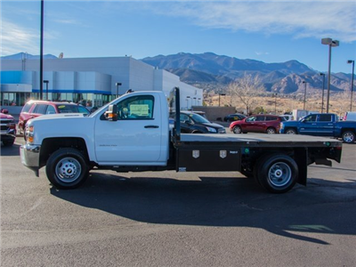 2018 Silverado 3500 Regular Cab DRW 4x4, Knapheide PGNB Gooseneck Platform Body #X5305 - photo 4