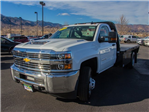 2018 Silverado 3500 Regular Cab DRW 4x4, Knapheide PGNB Gooseneck Platform Body #X5305 - photo 5