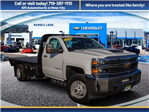 2018 Silverado 3500 Regular Cab DRW 4x4 Platform Body #X5307 - photo 1