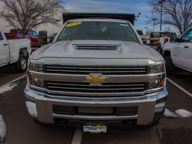 2018 Silverado 3500 Crew Cab DRW 4x4, Rugby Dump Body #X5321 - photo 4