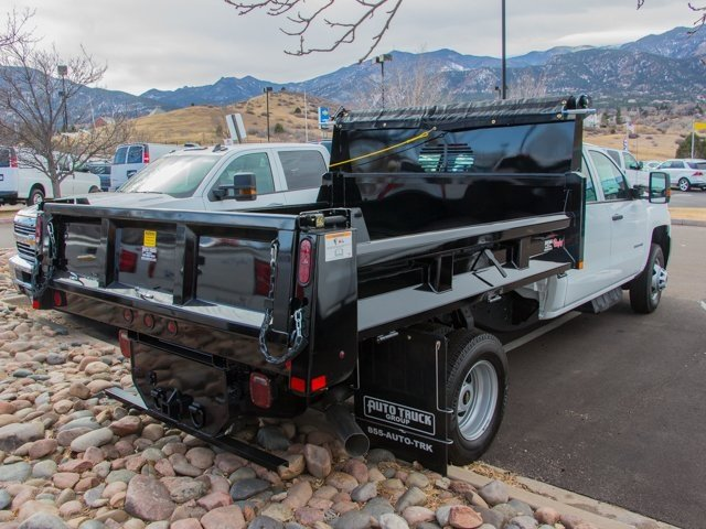 2018 Silverado 3500 Crew Cab DRW 4x4, Rugby Dump Body #X5321 - photo 2