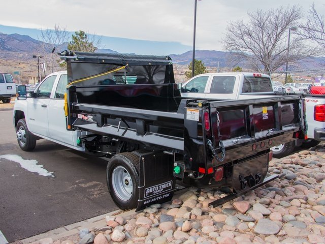 2018 Silverado 3500 Crew Cab DRW 4x4, Rugby Dump Body #X5321 - photo 6