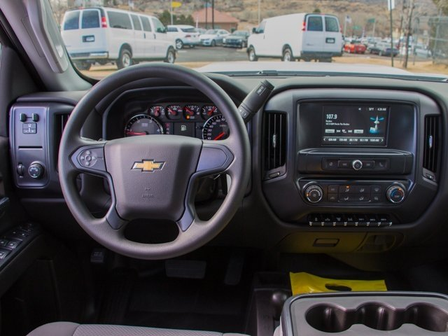 2018 Silverado 3500 Crew Cab DRW 4x4, Rugby Dump Body #X5321 - photo 12