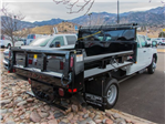 2018 Silverado 3500 Crew Cab DRW 4x4, Rugby Dump Body #X5321 - photo 1