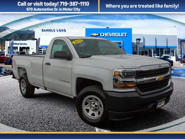 2018 Silverado 1500 Regular Cab, Pickup #X5336 - photo 1