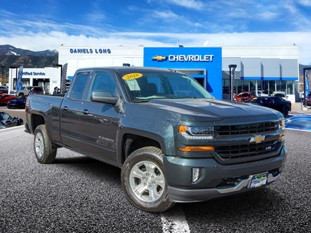 2018 Silverado 1500 Double Cab 4x4,  Pickup #X5402 - photo 1