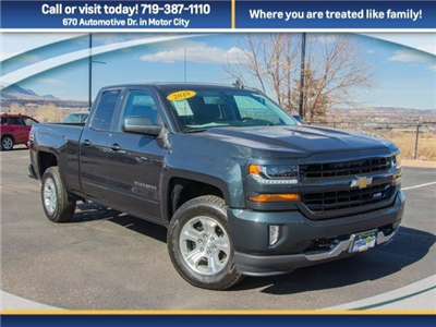 2018 Silverado 1500 Double Cab 4x4,  Pickup #X5402 - photo 3