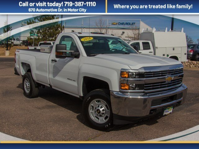 2018 Silverado 2500 Regular Cab 4x4,  Pickup #X5468 - photo 3
