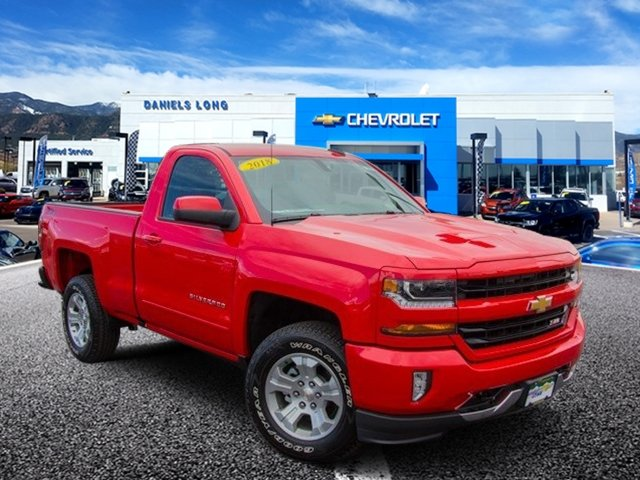 2018 Silverado 1500 Regular Cab 4x4,  Pickup #X5530 - photo 1