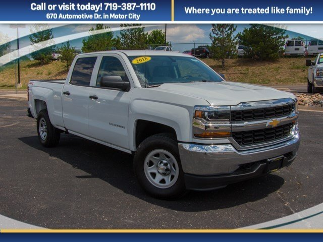 2018 Silverado 1500 Crew Cab 4x4,  Pickup #X5672 - photo 15