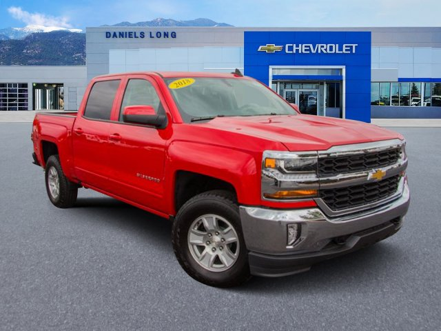 2018 Silverado 1500 Crew Cab 4x4,  Pickup #X5742 - photo 1