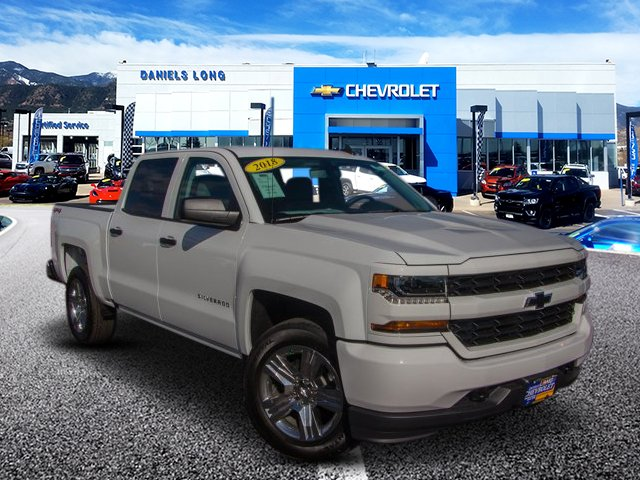 2018 Silverado 1500 Crew Cab 4x4,  Pickup #X5780 - photo 1