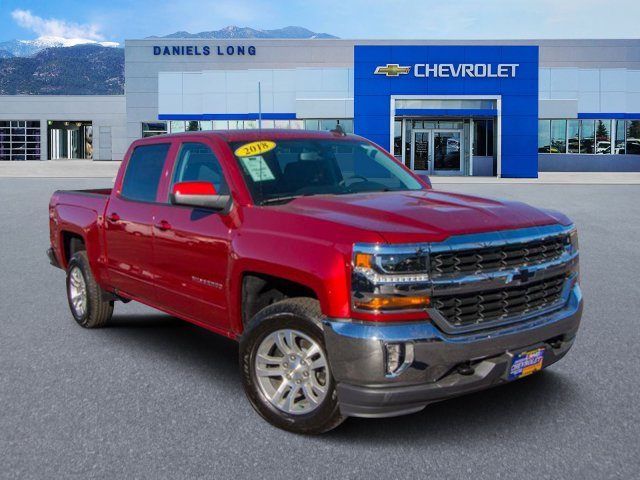 2018 Silverado 1500 Crew Cab 4x4,  Pickup #X5787 - photo 1