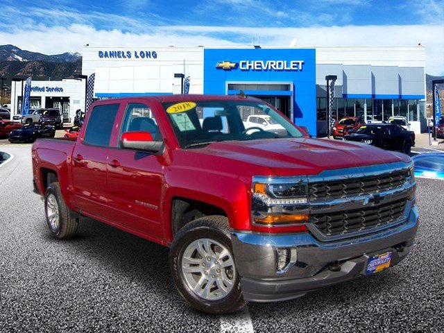 2018 Silverado 1500 Crew Cab 4x4,  Pickup #X5787 - photo 5
