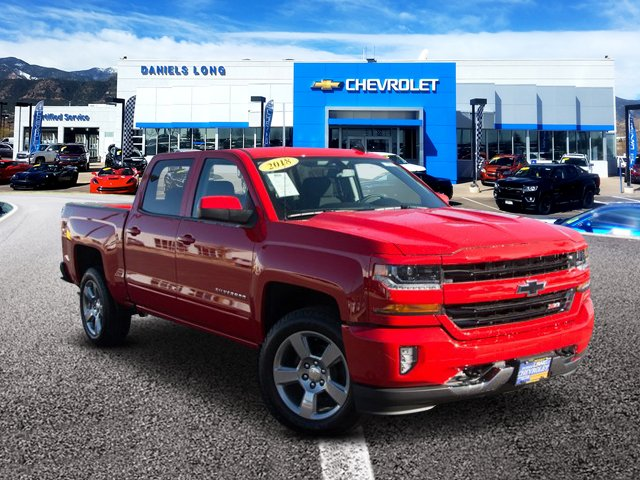 2018 Silverado 1500 Crew Cab 4x4,  Pickup #X5816 - photo 1