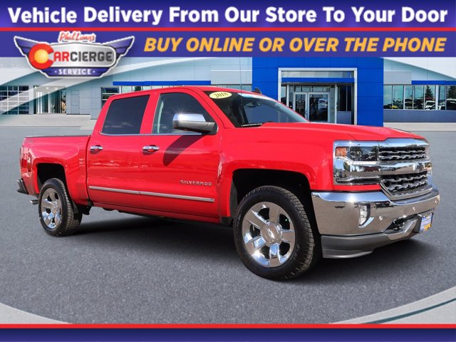 2018 Silverado 1500 Crew Cab 4x4,  Pickup #X5817 - photo 1