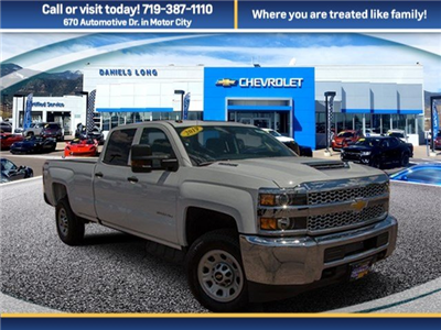 2019 Silverado 3500 Crew Cab 4x4,  Pickup #Y6009 - photo 1