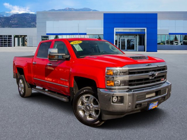 2019 Silverado 2500 Crew Cab 4x4,  Pickup #Y6317 - photo 3