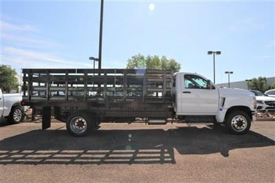 2019 Silverado 5500 Regular Cab DRW 4x2, Parkhurst Toughline Stake Bed #Y6804 - photo 3