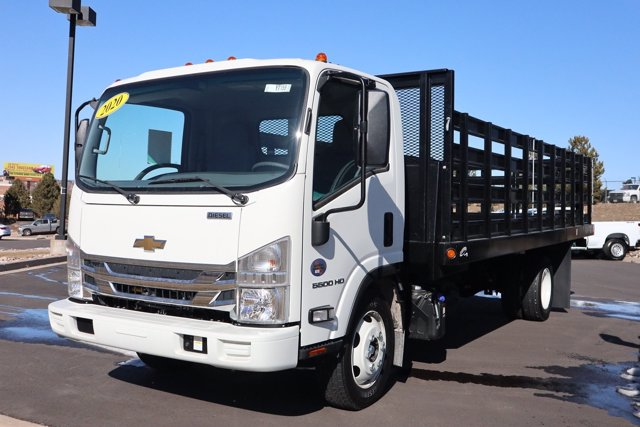 2020 Chevrolet LCF 5500HD Regular Cab RWD, Parkhurst Stake Bed #Y7159 - photo 1