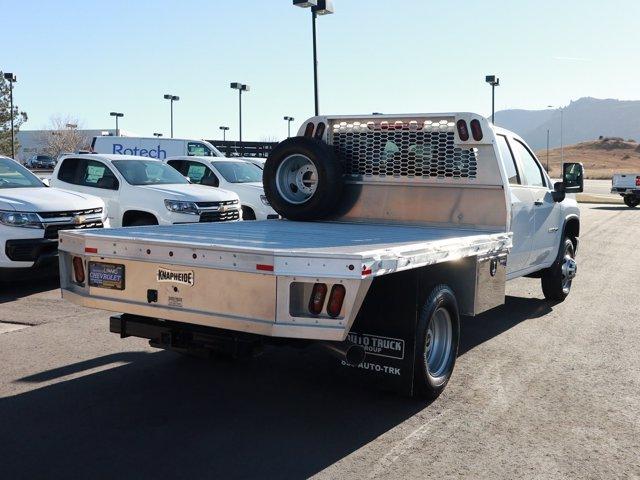 2020 Chevrolet Silverado 3500 Crew Cab DRW 4x4, Knapheide Platform Body #Y7778 - photo 1