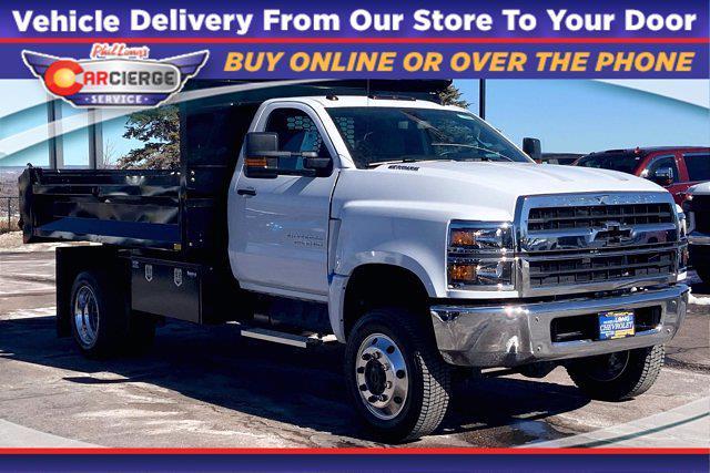2020 Chevrolet Silverado 5500 Regular Cab DRW 4x4, Knapheide Dump Body #Y7812 - photo 1