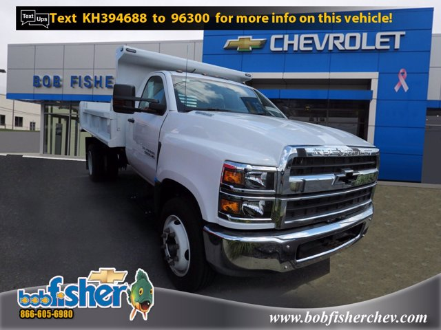 2019 Chevrolet Silverado Medium Duty Regular Cab DRW 4x2, Air-Flo Dump Body #K10043 - photo 1