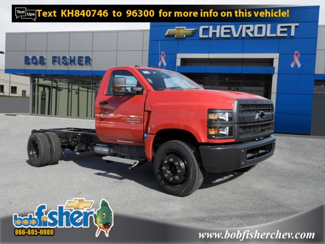 2019 Chevrolet Silverado 4500 Regular Cab DRW 4x2, SH Truck Bodies Stake Bed #K1500 - photo 1