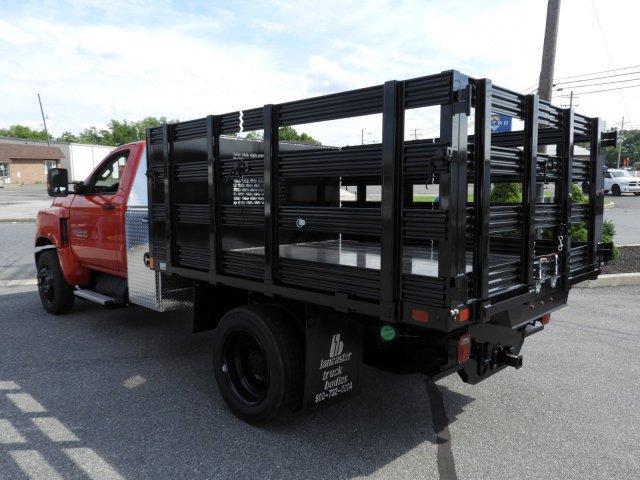 2019 Chevrolet Silverado 4500 Regular Cab DRW RWD, SH Truck Bodies Stake Bed #K1500 - photo 6