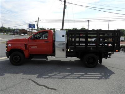 2019 Chevrolet Silverado 4500 Regular Cab DRW RWD, SH Truck Bodies Stake Bed #K1500 - photo 5