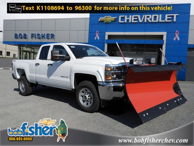 2019 Silverado 2500 Double Cab 4x4,  Western Pickup #K1883 - photo 1