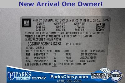 2017 Chevrolet Silverado 1500 Crew Cab 4x4, Pickup #079978B - photo 25