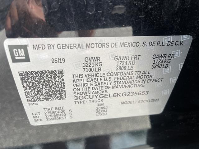 2019 Chevrolet Silverado 1500 Crew Cab 4x4, Pickup #0K5507 - photo 27