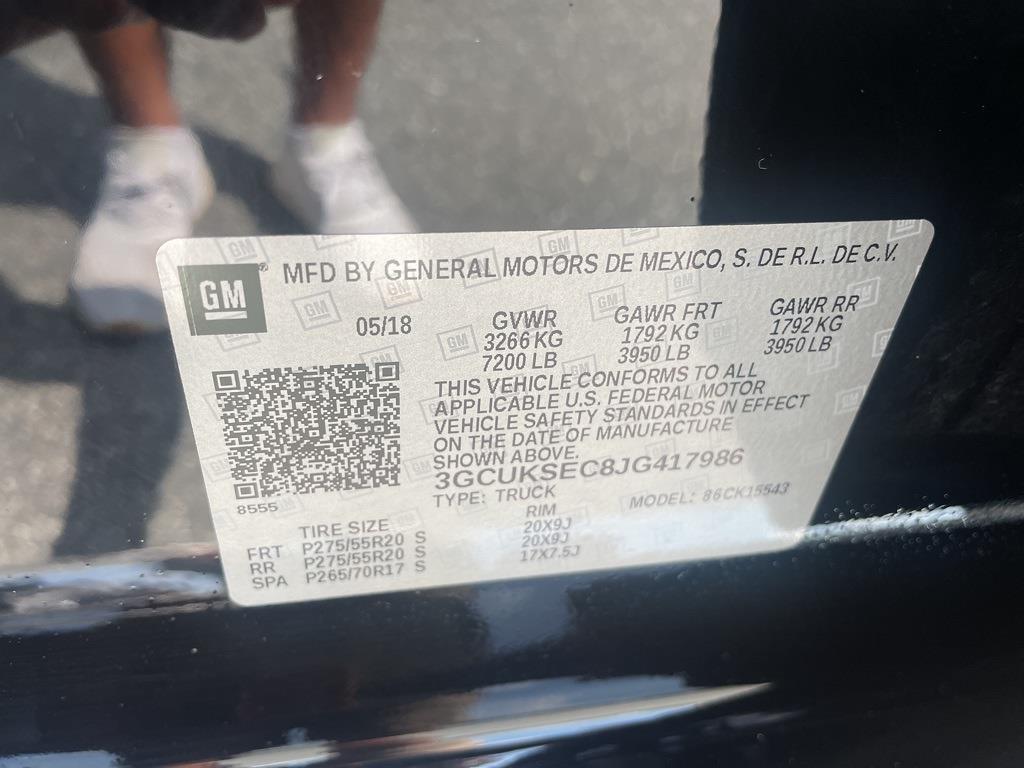 2018 Chevrolet Silverado 1500 Crew Cab 4x4, Pickup #0K5508 - photo 25
