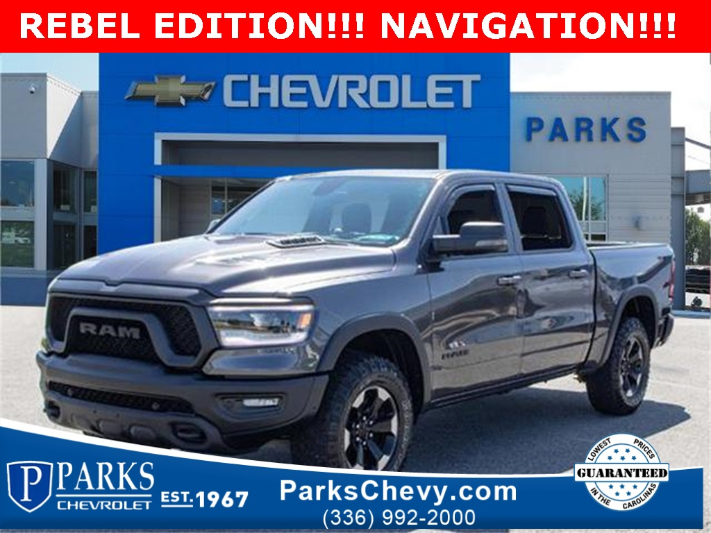 2019 Ram 1500 Crew Cab 4x4, Pickup #154836A - photo 1