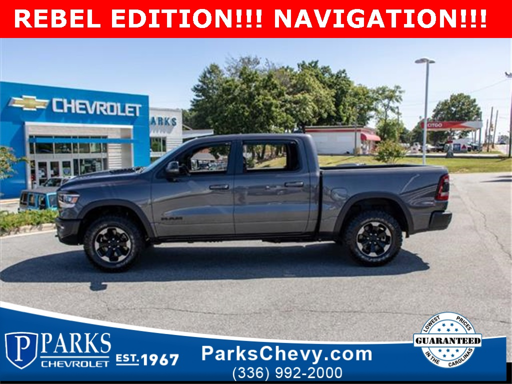 2019 Ram 1500 Crew Cab 4x4, Pickup #154836A - photo 5