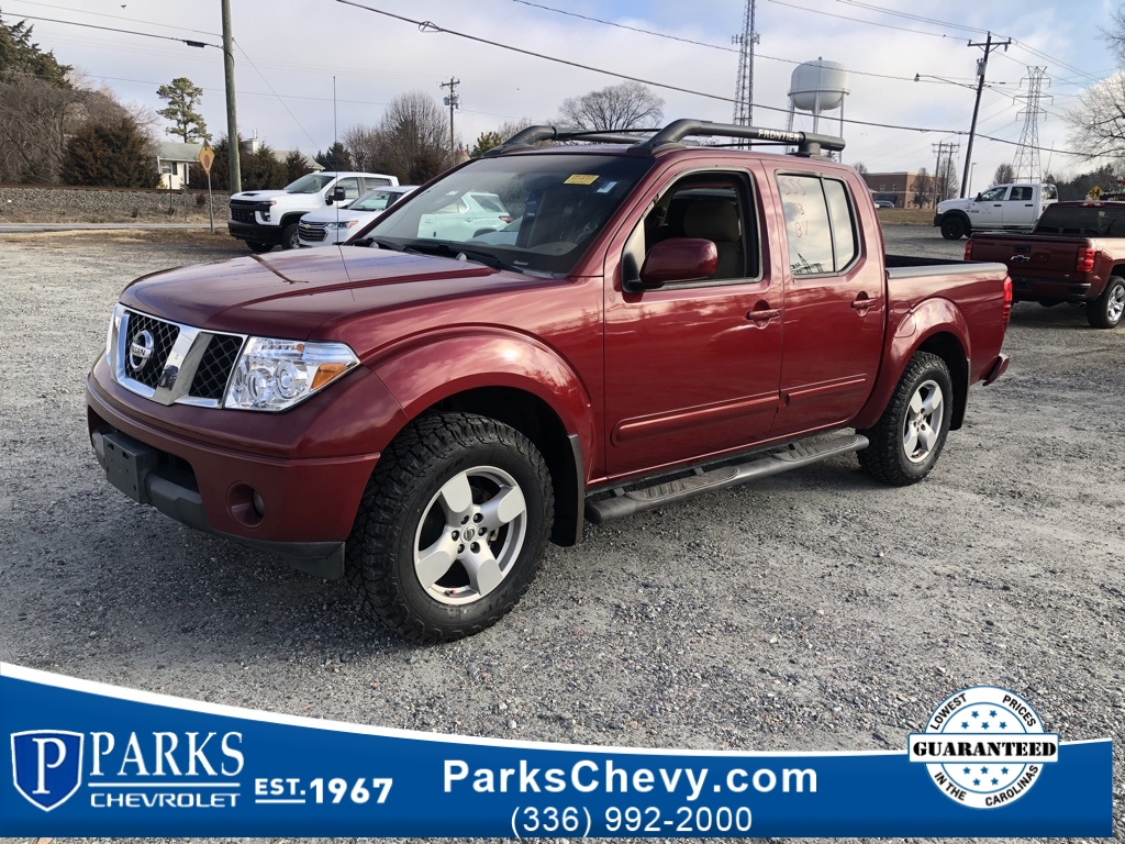 2007 Nissan Frontier 4x4, Pickup #190534A - photo 1