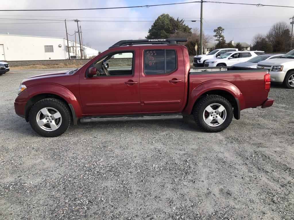 2007 Nissan Frontier 4x4, Pickup #190534A - photo 4