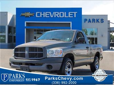2008 Ram 1500 Regular Cab 4x2, Pickup #1K4075A - photo 1