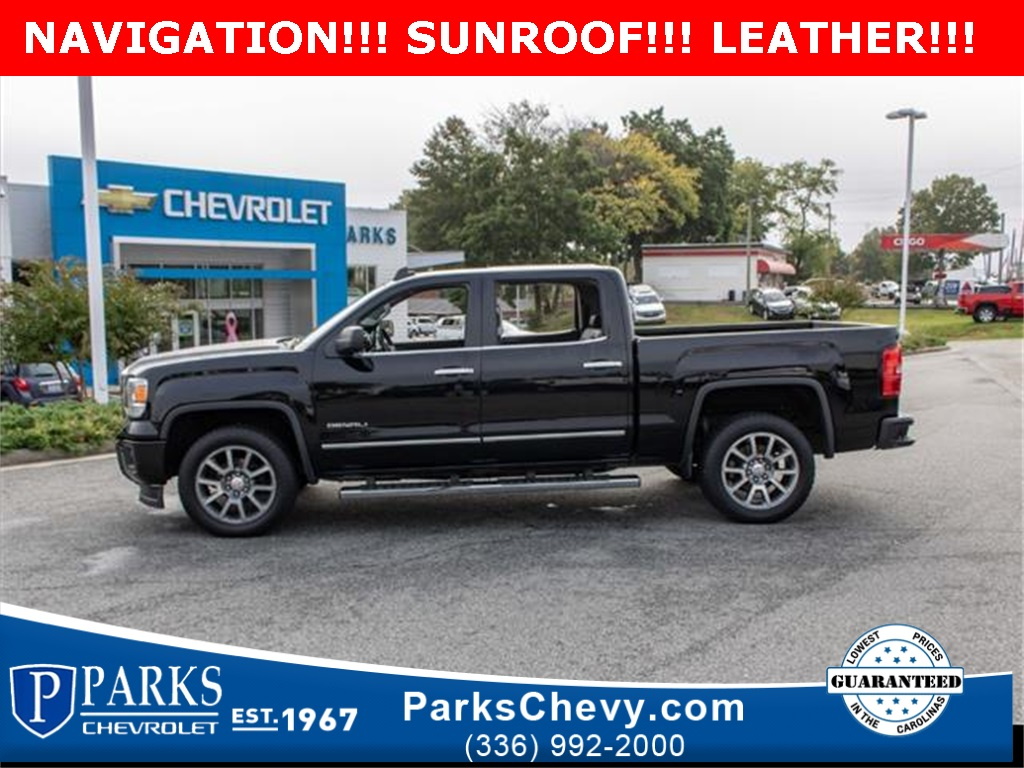 2015 GMC Sierra 1500 Crew Cab 4x4, Pickup #1K4679 - photo 3