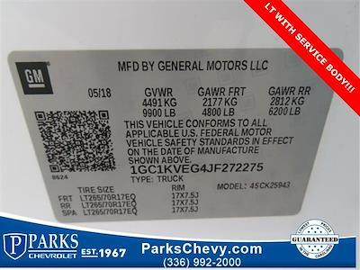 2018 Chevrolet Silverado 2500 Crew Cab 4x4, Service Body #1K5020 - photo 22