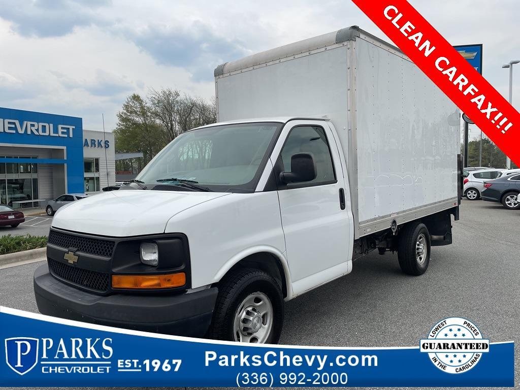 2016 Chevrolet Express 3500, Cutaway Van #1K5021 - photo 1