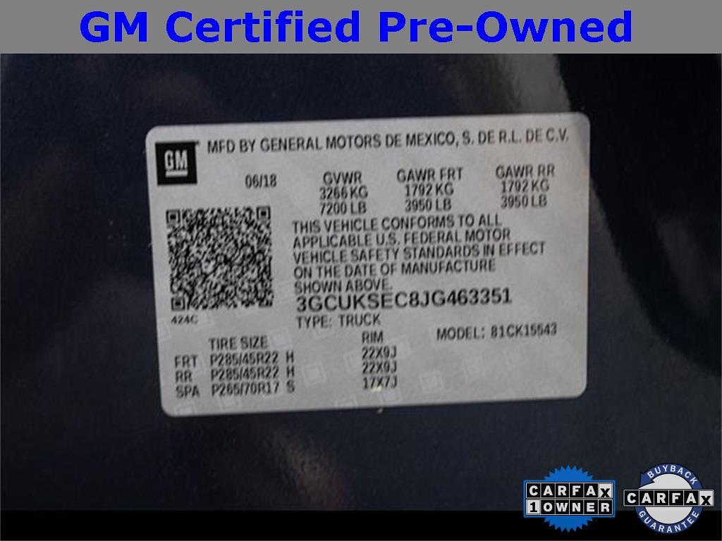 2018 Chevrolet Silverado 1500 Crew Cab 4x4, Pickup #1K5136 - photo 28