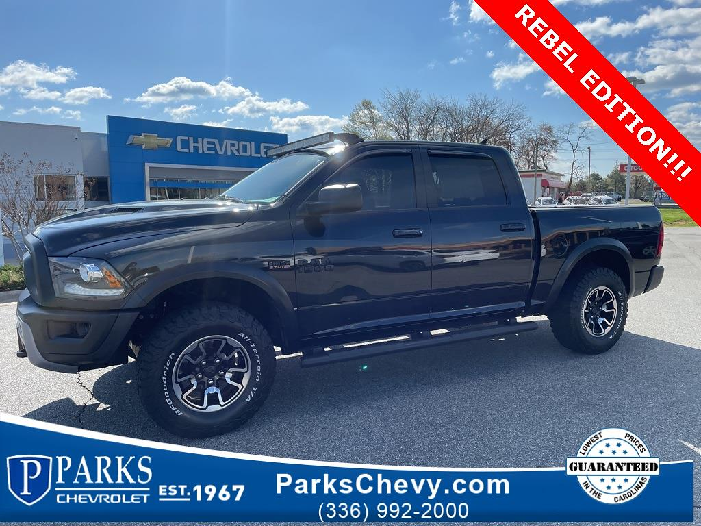 2017 Ram 1500 Crew Cab 4x2, Pickup #1K5149 - photo 4