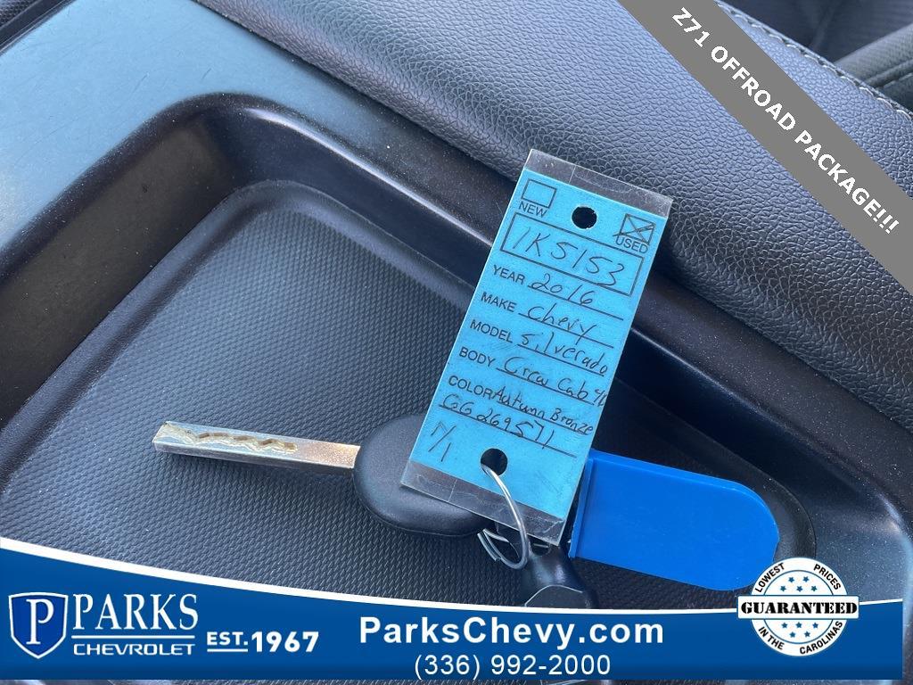 2016 Chevrolet Silverado 1500 Crew Cab 4x4, Pickup #1K5153 - photo 50